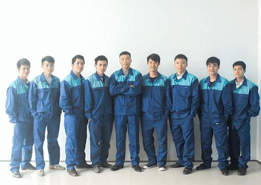 đội ngũ chuyên nghiệp